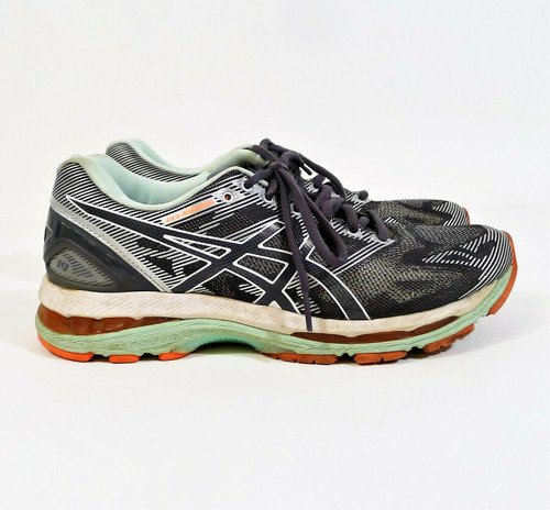 Asics Women's Gray Gel-Nimbus 19 Running Shoes Size 9.5 - T750N