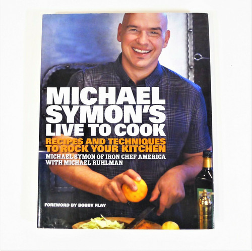 Michael Symon's Live to Cook Hardback Book Cookbook