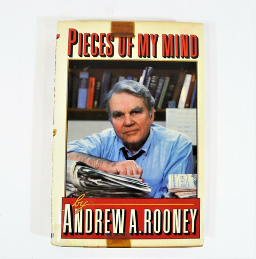 Vintage Pieces of My Mind by Andrew A Rooney Hardback Book
