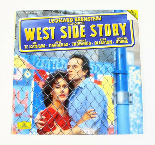 West Side Story Conducted by Leonard Bernstein 2 Vinyl Record Set Albums