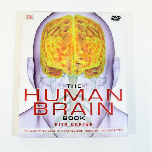 The Human Brain Book Hardcover Book with DVD-ROM by Rita Carter