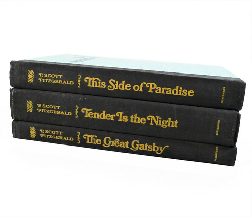 Set of 3 F. Scott Fitzgerald Hardback Books The Great Gatsby and More