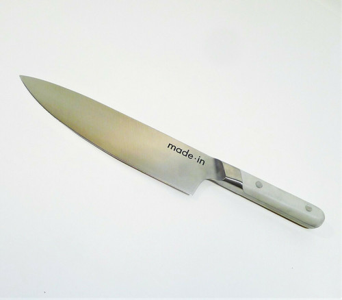 """Made In Cookware Beaune Gray 8"""" Chef Knife"""