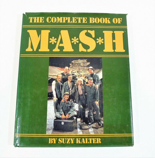 """Complete Book of Mash by Suzy Kalter Hardcover Book 9.75"""" x 12"""""""