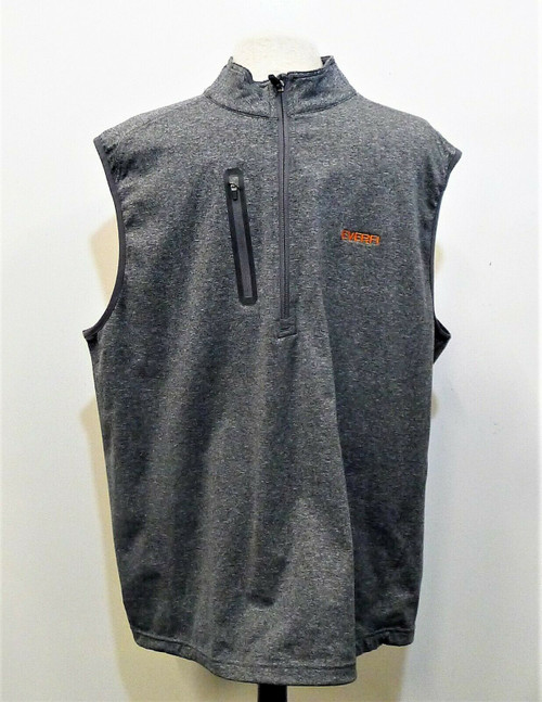 Levelwear Men's Gray Everli 1/2 Zip Vest Size XL