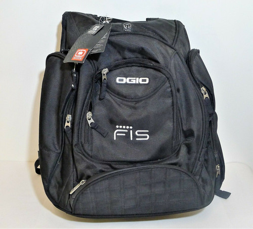 Ogio Black Fis Metro Audio Padded Laptop Backpack - NEW WITH TAGS