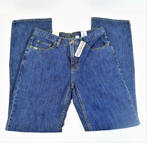 Cruel Girl Women's Dakota Relaxed Stretch Blue Jeans Size 11 Long - NEW WITH TAG