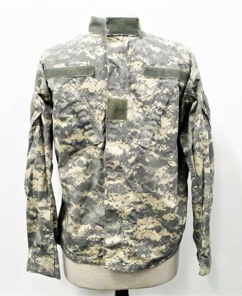 Golden MFG Co Army Digitized Camouflage Combat Uniform Coat Size Small - Short
