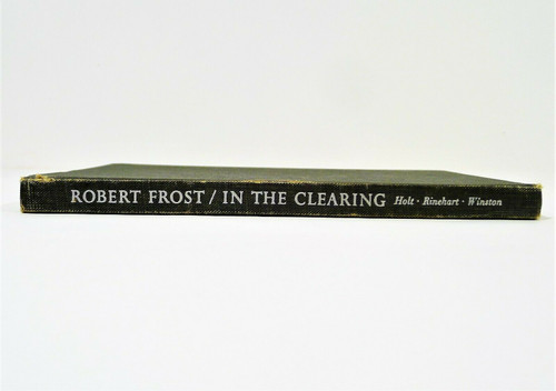 Vintage In the Clearing Hardback Book by Robert Frost
