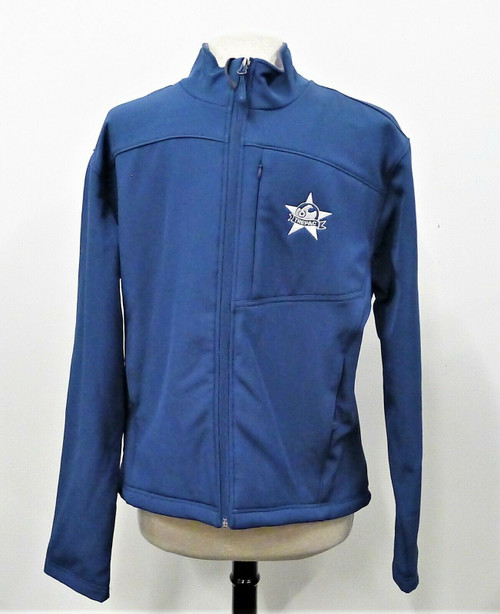 Fossa Men's Slate Blue with Trepac Logo Full Zip Fleece Lined Jacket Size XL