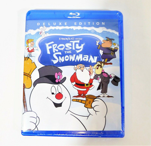 Frosty the Snowman Deluxe Edition Blu-Ray NEW SEALED