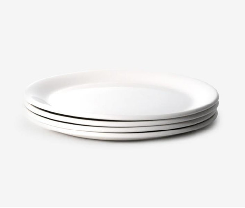 """Set of 4 Made In Cookware 10"""" Dinner Plate"""