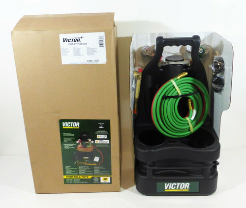 Victor CST-P Portable Welding Tote Kit Without Tanks 0386-1320  NEW
