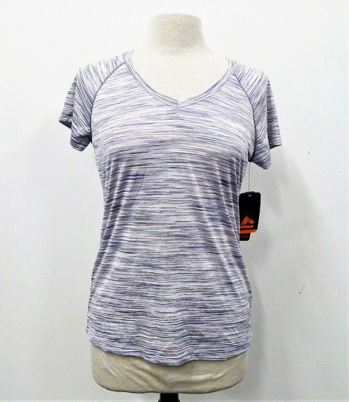 RBX Active Women's Multicolor Striped Performance Shirt Size Medium Style CR274R