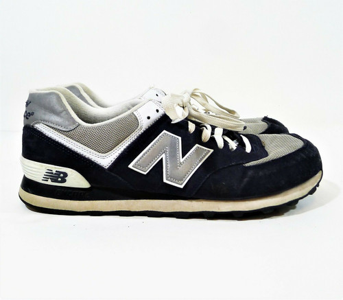 New Balance Men's Navy M574 Sneakers Shoes Size 13
