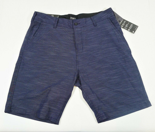 Trunks Men's Blue Multi-Functional Shorts Size 36 - NEW WITH TAGS