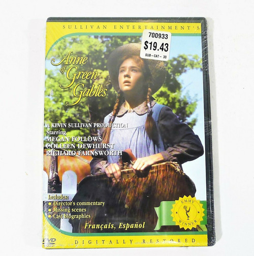 Anne of Green Gables DVD  - NEW SEALED