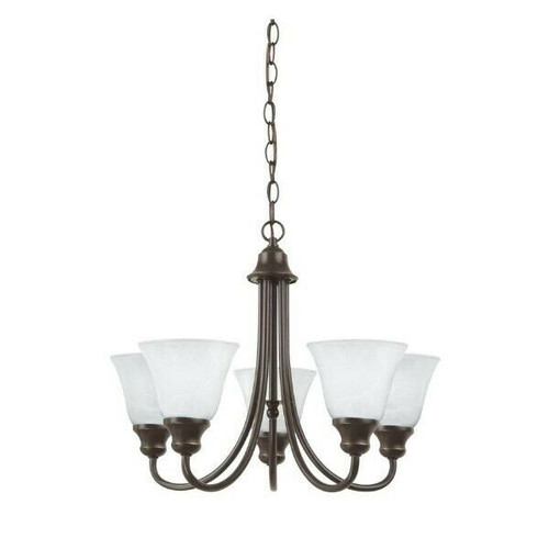 Generation Lighting Windgate 5-Light Chandelier in Heirloom Bronze  NEW OPEN BOX