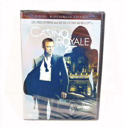 Casino Royale 2-Disc Widescreen Edition DVD - NEW SEALED