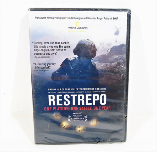 National Geographic Restrepo DVD - NEW SEALED