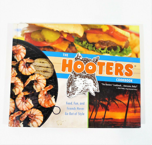The Hooters Cookbook Hardcover Book