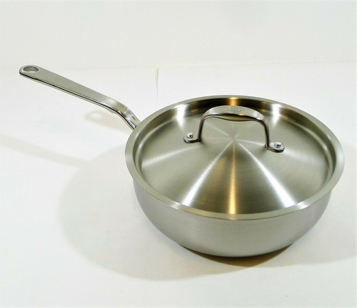 Made in Cookware 3 Quart Saucier Pan with Lid - OPEN BOX