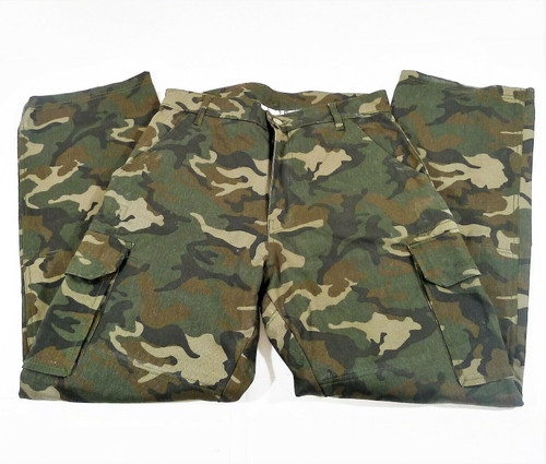 AGV Sport Men's Camouflage Cargo Riding Pants Size W32 L32 - **FADED SPOT