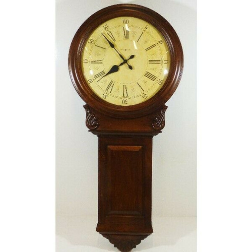 Howard Miller Norwich Chiming Large Wall Clock  LOCAL PICKUP ONLY, AUSTIN TX