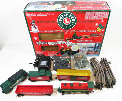 Lionel Ready To Run 0-27 Christmas Train Set *Not Fully Tested, See Description