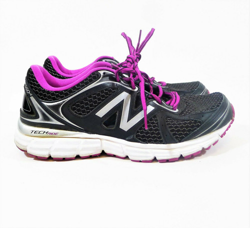 New Balance Women's Black/Purple Running Shoes Size 9 - W560V6