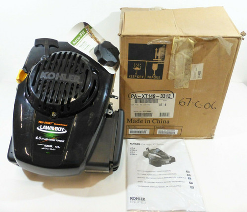 Kohler Courage XT Series XT6 Small Gas Lawnmower Engine 149CC  *NEW - OPEN BOX