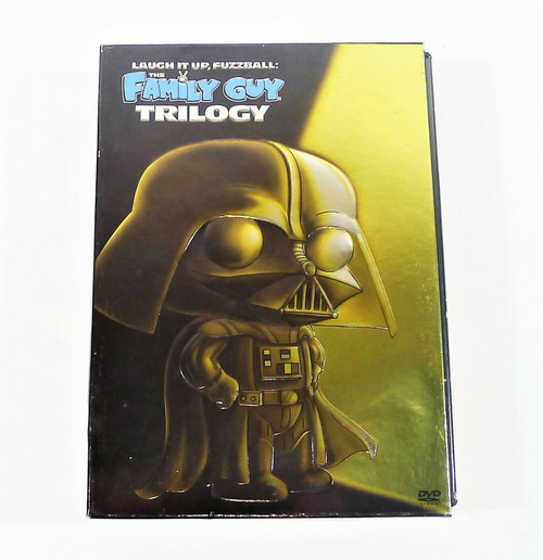 Laugh It Up Fuzzball Family Guy Trilogy DVD Set - Blue Harvest, Dark Side & More