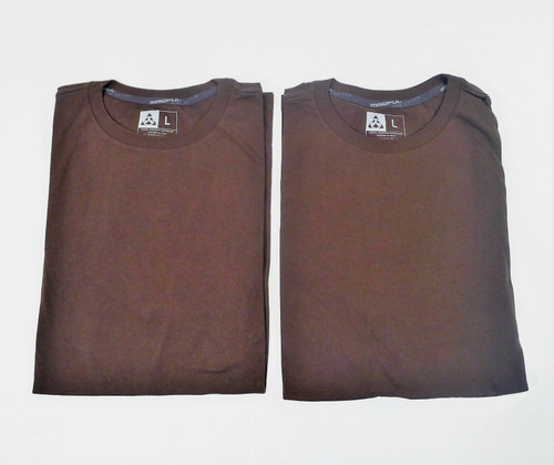 Set of 2 Men's Brown Magpul 100% Cotton T-Shirts Size L - NEW WITHOUT TAGS