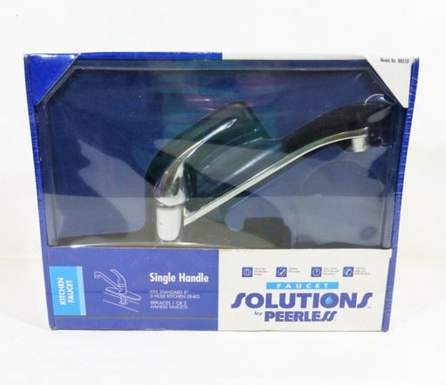 Faucet Solutions by Peerless Single Handle Kitchen Faucet WAS10  NEW