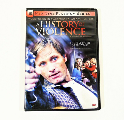 A History of Violence DVD New Line Platinum Series