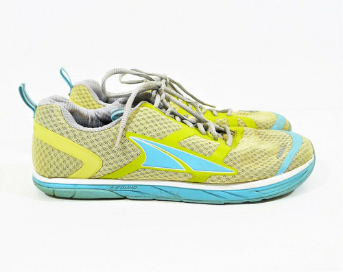 Altra Women's Blue/Green Provisioness 1.5 Running Shoes Size 12 **SEE  DESCR.