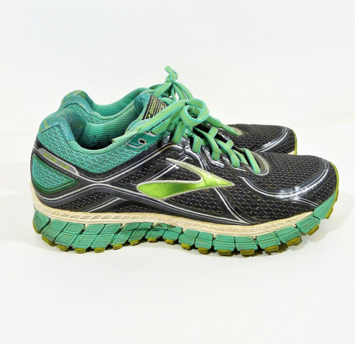 Brooks Women's Gray/Green GTS-16 Carpe Runem Shoes Size 8