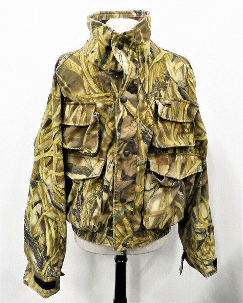 Herter's Men's Camouflage Waterproof Jacket Size XL - MISSING HAT