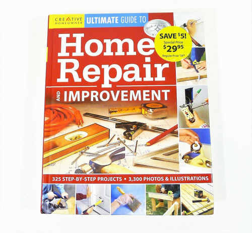 Ultimate Guide to Home Repair and Improvement Hardback Book