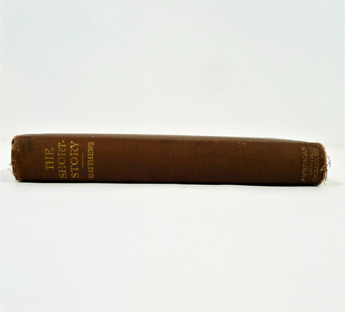 The Short Story Hardcover Book by Brander Matthews 1907 **SEE DESCRIPTION