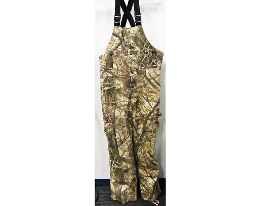 Cabela's Men's Color Phase Camouflage Zonz Woodlands Bib Hunting Overalls Size M