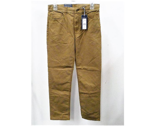 Vineyard Vines Boy's Otter (Brown) Canvas 5-Pocket Pants Size 16- NEW WITH TAGS