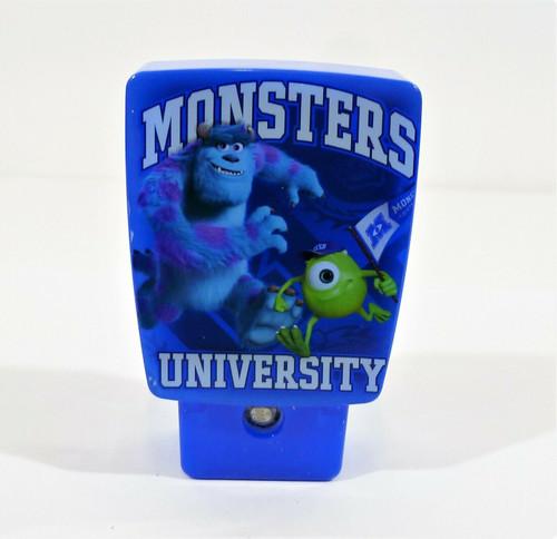 Disney Pixar Monsters University Automatic LED Night Light 13232 - NEW SEALED