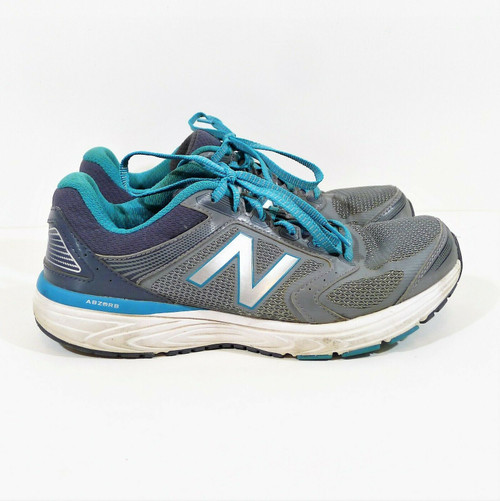 New Balance Women's Silver/Blue 460 Running Shoes Size 9.5 - W560LS7