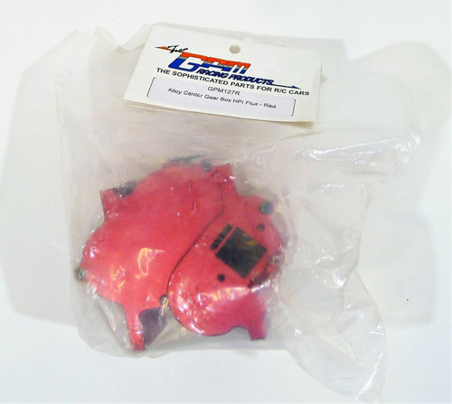 Team GPM Racing Products Alloy Center Gear Box HPI Flux - Red GPM127R - NEW
