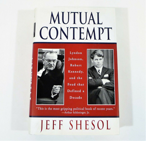 Mutual Contempt Hardback Book By Jeff Shesol
