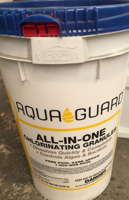 AquaGuard 50 Lb All-In-One Chlorine Granules (Local Pickup Only)