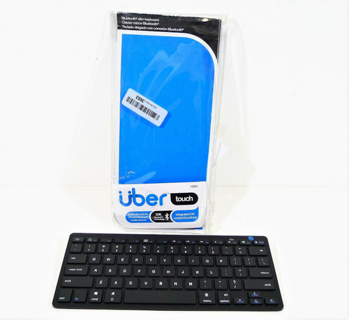 Uber Touch Universal Slim Bluetooth Keyboard 13205 - **SEE DESCRIPTION
