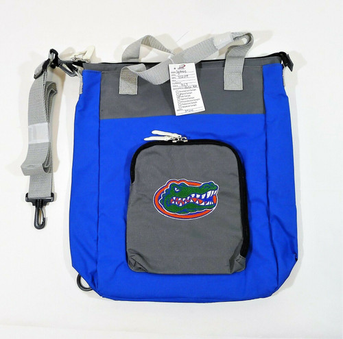 Florida Gators Blue and Gray Versa Tote with Shoulder Strap - NEW