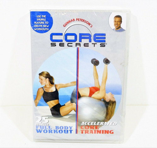 Gunnar Peterson's Core Secrets - NEW SEALED